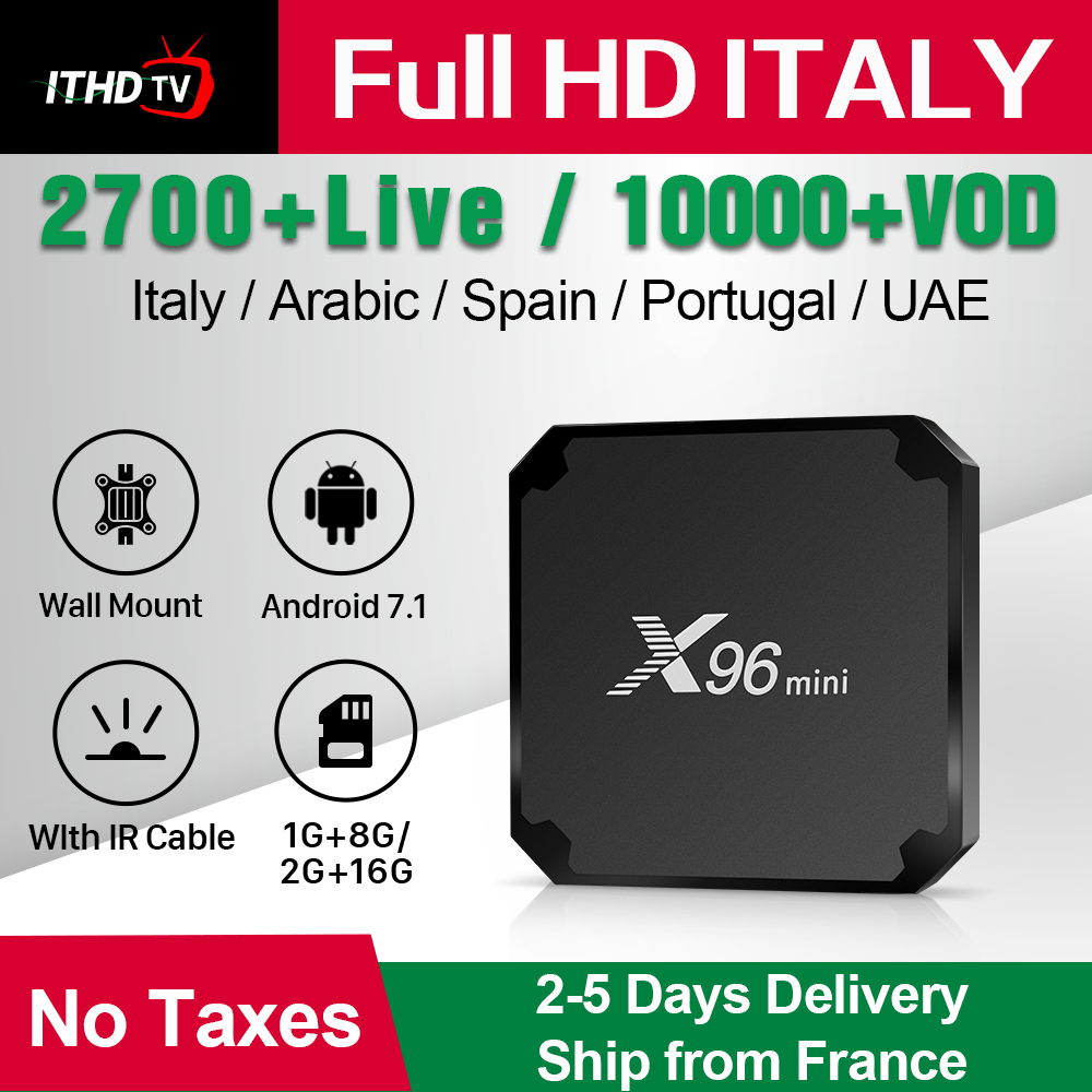 X96 MINI France IPTV Italy Arabic Portugal Turkey Android 7.1 1G+8G/2G+16G IPTV France Spain Italy Italian Qatar ITHDTV IPTV BoxX96 MINI France IPTV Italy Arabic Portugal Turkey Android 7.1 1G+8G/2G+16G IPTV France Spain Italy Italian Qatar ITHDTV IPTV Box