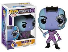 Funko pop Maravilha Oficial: guardians of The Galaxy Série 2-Nebulosa #76 Vinyl Action Figure Collectible Modelo Toy Em Estoque(China)