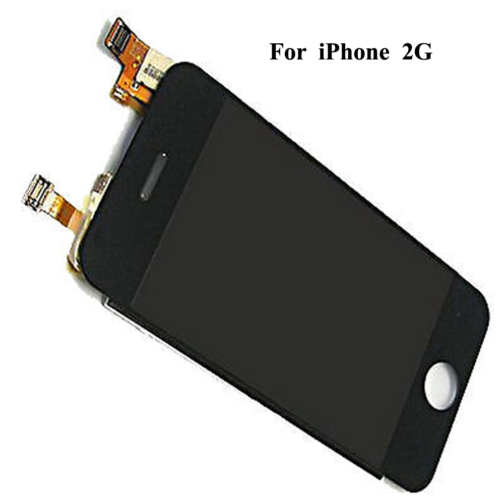 Image 2 - LCD Screen Display Touch Screen Digitizer Complete Front Assembly For iPhone 2G 1st generation-in Mobile Phone LCD Screens from Cellphones & Telecommunications