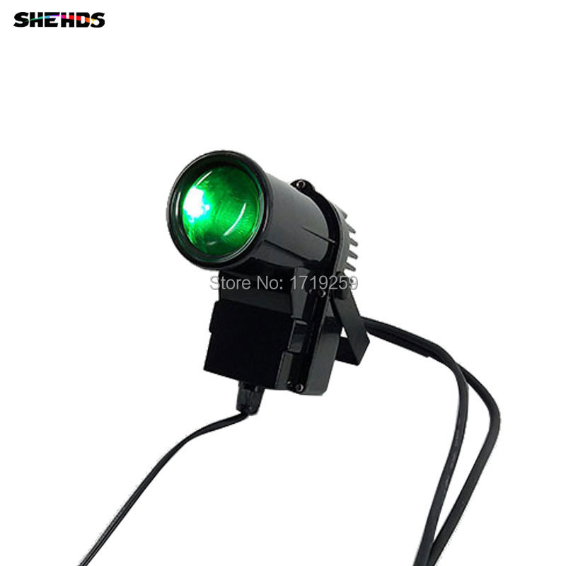 Fast Shpping LED 10W RGBW Pinspot Light LED small Spot light Quad LED 3/7 DMX Channels,SHEHDS Stage Lighting