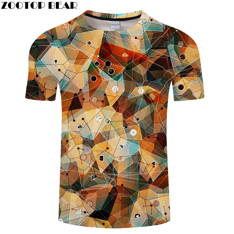 Three-dimension Men 3D tshirts Printed T-shirt Groot T Shirt Summer Funny Tees Short Sleeve Top Orange 2018 DropShip ZOOTOPBEAR