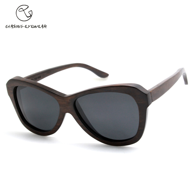 Man Brown Wood Sunglasses Polarized Women's Pink Wood Sunglasses Beach Pier Sunglasses High quality hand made glasses CS10168J