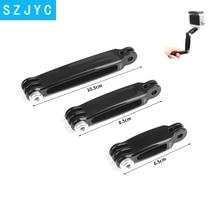 купить 3 in 1 Tripod Extension Arm for GoPro Hero 7 6 5 4 Session Xiaomi Yi 4K SJCAM SJ4000 SJ 5000 Go Pro Helmet Mount Accessory дешево