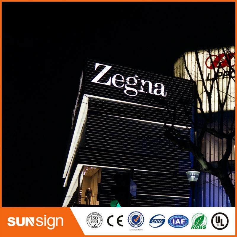 Custom Led Letter Sign For Store Window Advertising