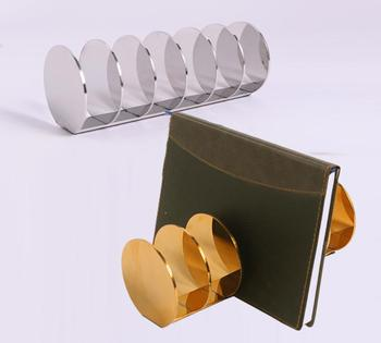 Для мужчин Для женщин стойка для кошельков кожаный женский кошелек Дисплей Нержавеющаясталь кошелек держатель Дисплей стойки для стол по...