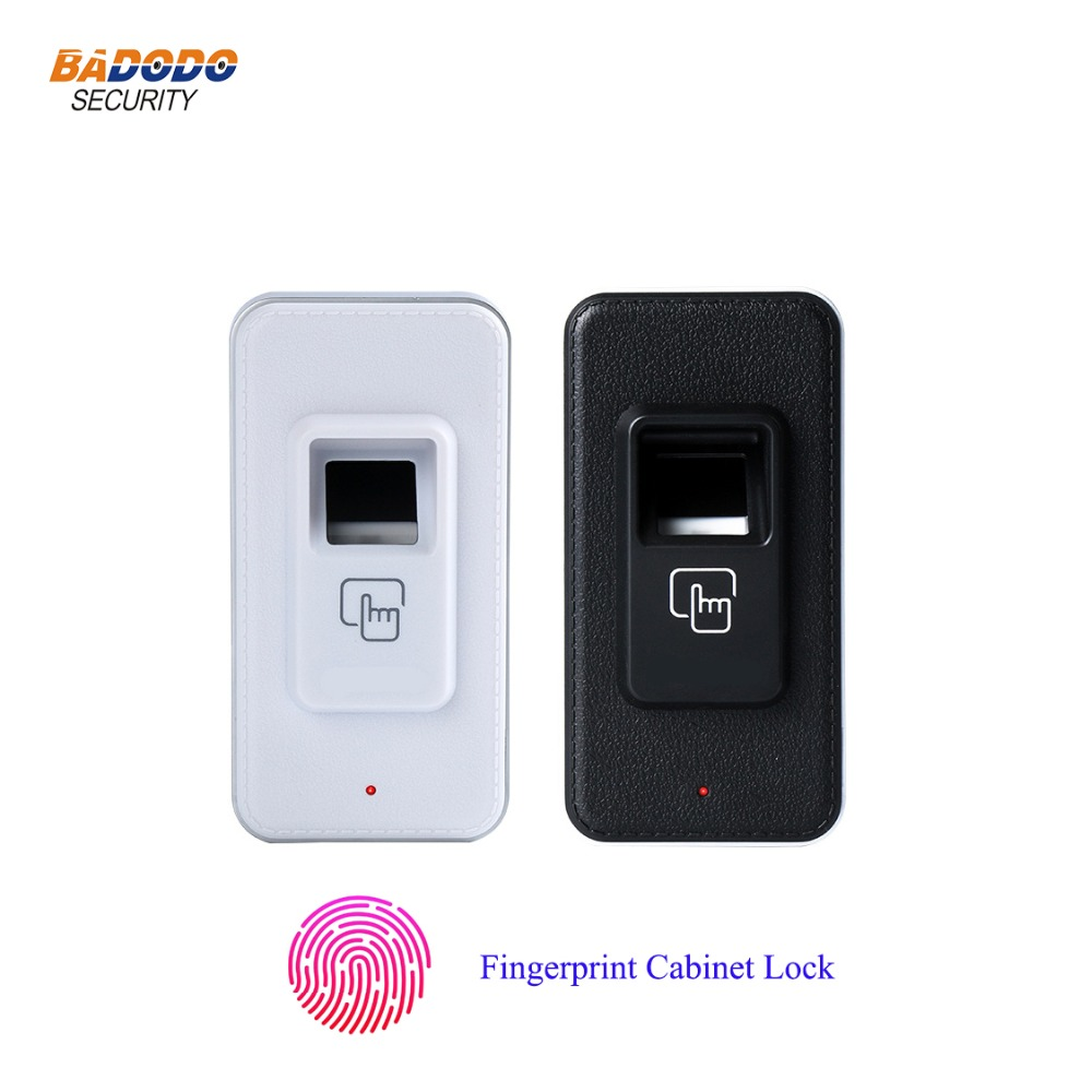 Keyless mini fingerprint cabinet door lock biometric lock for cabinet drawer locker cupboards