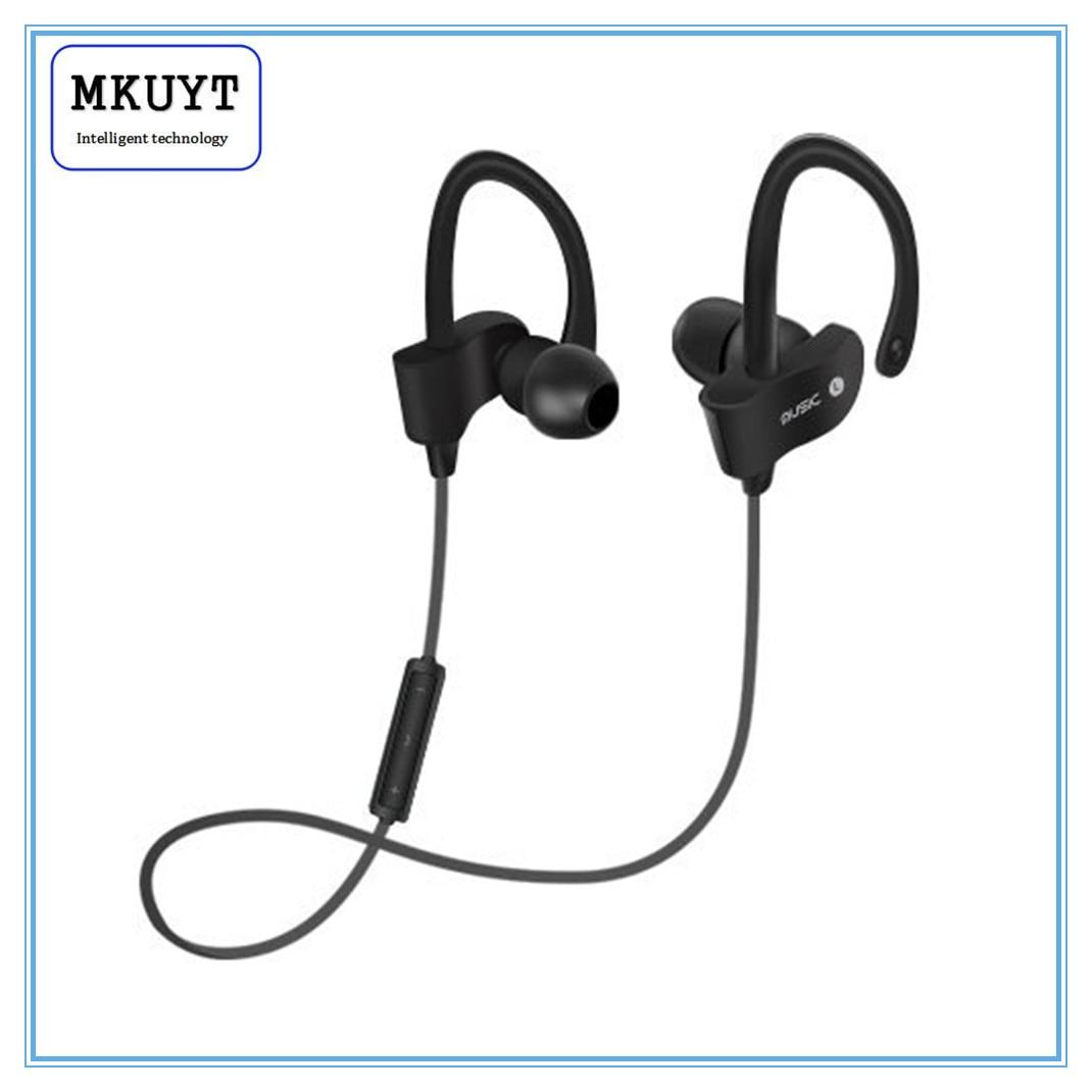 MKUYT 56S Wireless Bluetooth Earphones Waterproof IPX5 Headphone Sport Running Headset Stereo Bass Earbuds Handsfree With Mic big bluetooth wireless headphone earphones