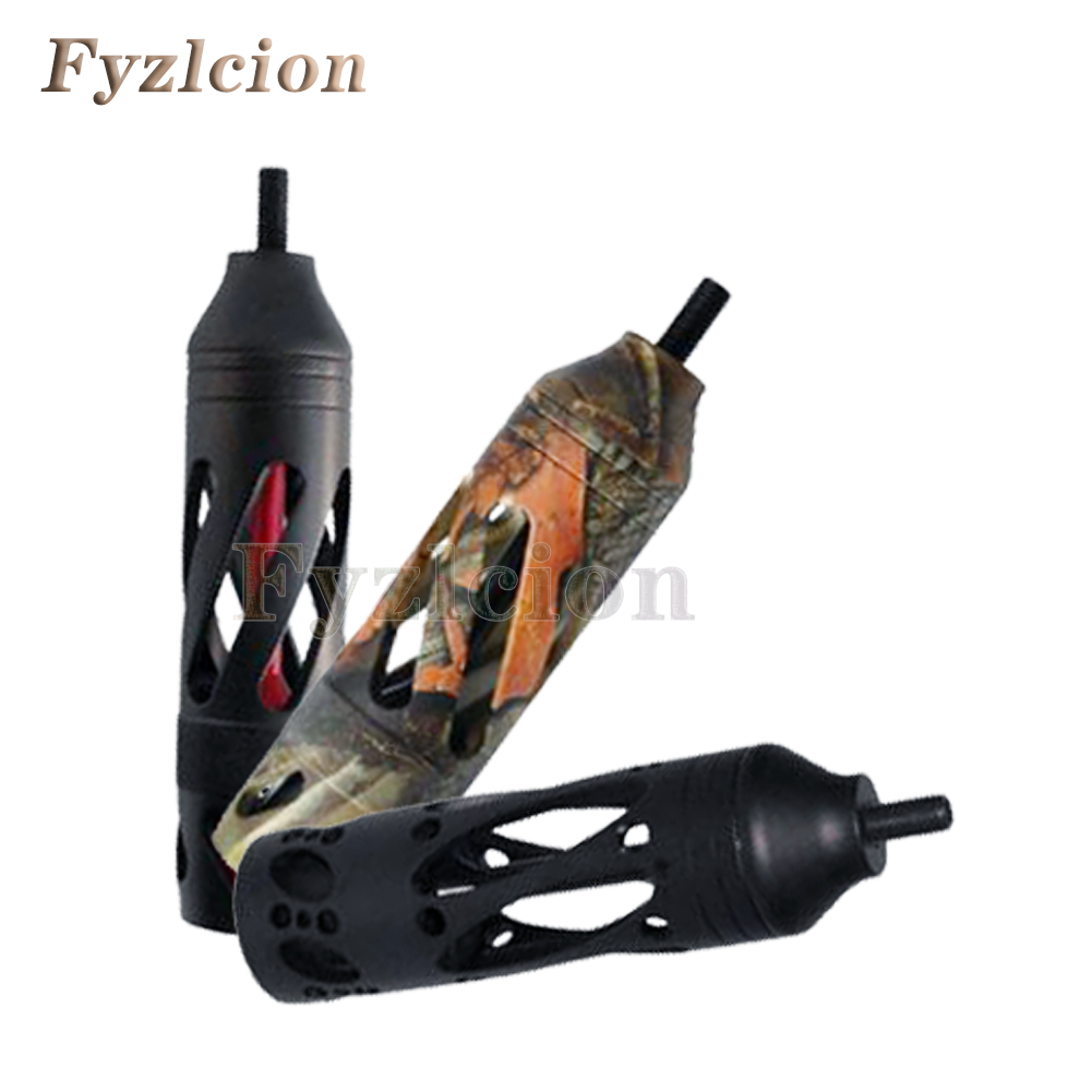 Target Rifle Hunting Bow Compound Vibration Stabilizer for Outdoor Sports Accessories with Aluminum CNC Machined 5 Inch 5.3 oz