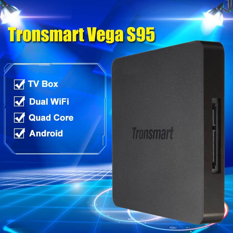 Tronsmart Vega S95 S905 Telos Android TV Box Amlogic Quad Core 2.0 GHz 2G/16G 802.11ac segunda mano  Se entrega en toda España