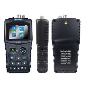 Image 4 - HD Digital Satellite Finder Combo Support DVB T2/DVB S2/DVB C Sat Finder Meter For Satellite TV Receiver dvb t2 Tuner