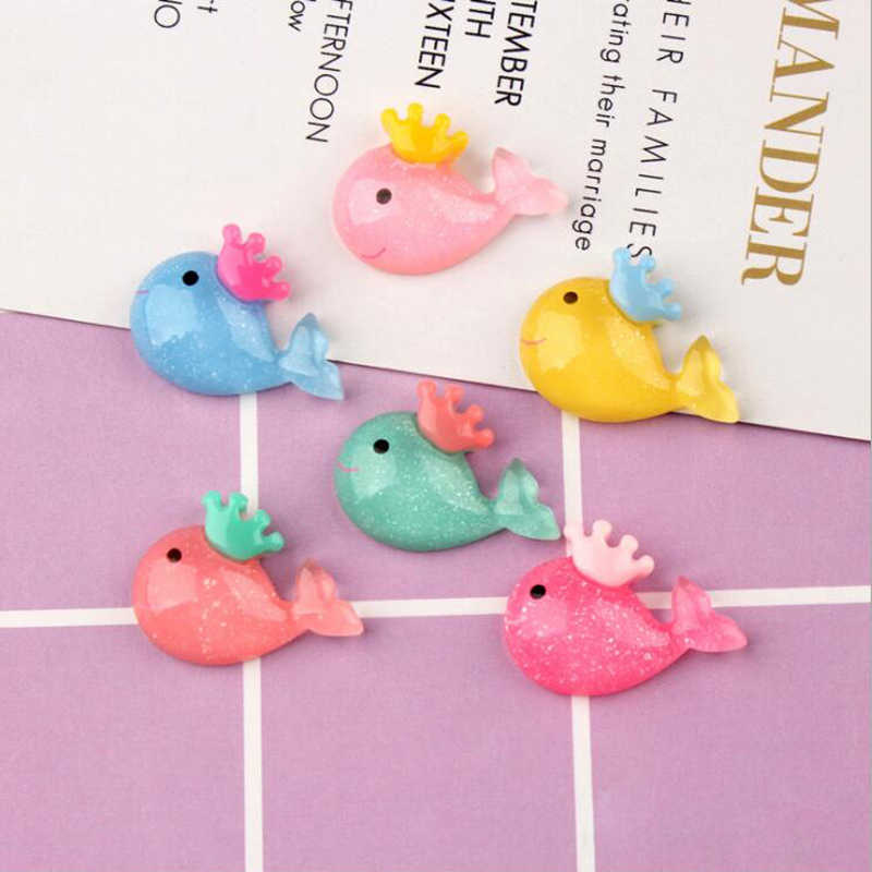 New Addition Slime Charms for Slime Supplies Filler DIY Polymer Cute Whale Accessories Toy Lizun Model Tool for Kids Toys Gift E