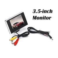 3.5 Inch Car Vehicle Overhead Monitor Color TFT HD Color LCD Monitor Rearview Monitor Screen support multi role display