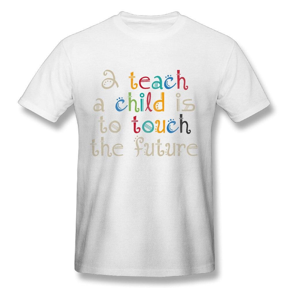 Shirt design for man 2017 - 2017 Chalkboard 2 Teach Teacher Printing Shirts Man Fashion Style Design Summer Dance