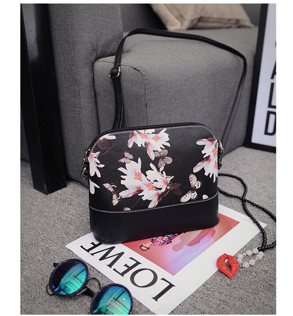 New 2017 shell package women shoulder bag women messenger bags famous brand leather handbag Women pouch