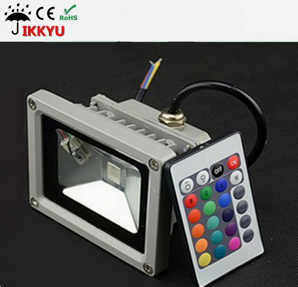 AC85-265v Led floodlight 50w RGB outdoor waterproof colorful cast light bar stage projec ...