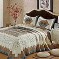 100% Cotton Coverlet Set 238cmx238cm Floral Bed Cover Set Floral Bedclothes Bedspread Pillow Cases