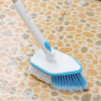 Telescopic handle floor brush kitchen long handle floor cleaning brush bathroom brush tile ceiling brush