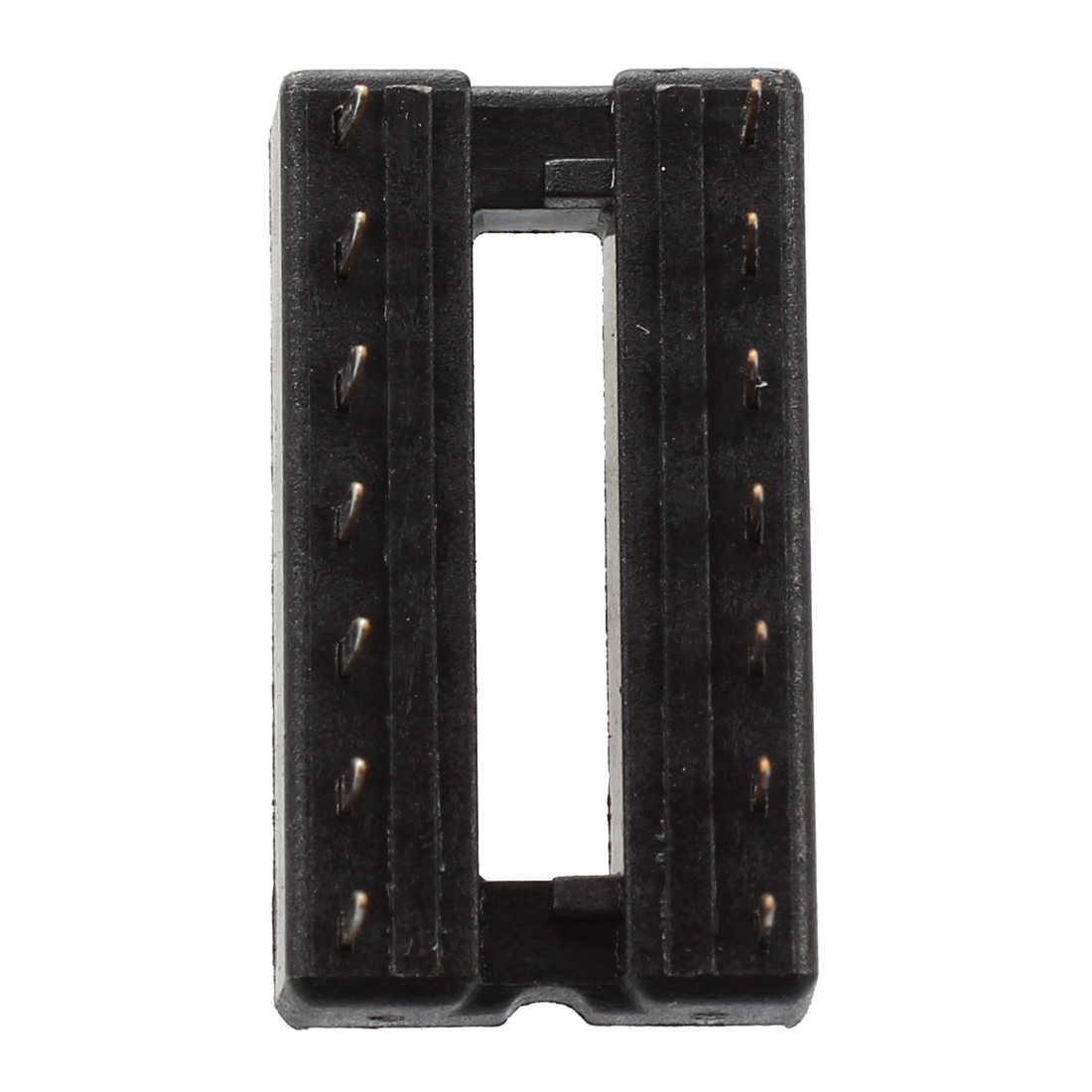 20 adet 14 pin 2.54mm Pitch DIP IC prizler lehim tipi adaptörler