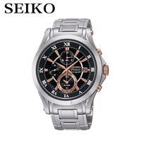 Seiko Watches Premier Chronograph Chronograph Calendar Waterproof Quartz Men S Watches SNAF20P1