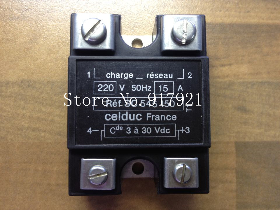 [ZOB] The original French Celduc SC545150 15A 220V said the import of solid state relay 3-30V  --5pcs/lot bride of the water god v 3