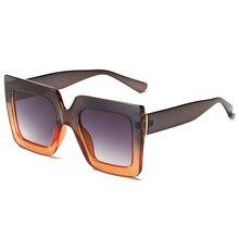 b7d99fdfc M MISM جديد وصول ريترو المرأة النظارات الشمسية البلاستيك إطار كبير النظارات  خمر نظارات شمسية الكلاسيكية القط العين مربع نظارات U..