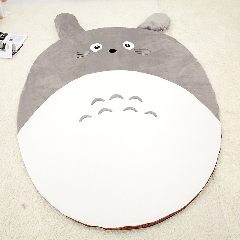 150*150cm Plush Totor baby crawling pad , child play game mat, baby gym mat cartoon kids room floor developing carpet toys leweihuan new cartoon baby game mat boys girls crawling carpet play mat kids toys organizer bag room decoration floor carpet