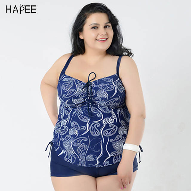ed18f89703268 Online Shop XXL XXXL XXXXL 5XL 6XL Sexy plus size bathing suits swimwear  large size padded tankini swimsuits women, plus size swimsuit | Aliexpress  Mobile