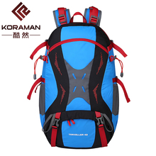 KORAMAN NEW 40L Sports outdoor mountaineering Shoulder bag walking leisure waterproof sports backpack outdoor skin men women 008