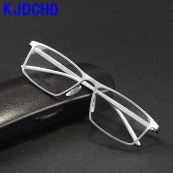 2019 brand glasses frame men women Retro Pure titanium eyeglasses frames oculos de grau computer optical glasses myopia nerd - DISCOUNT ITEM  49% OFF All Category