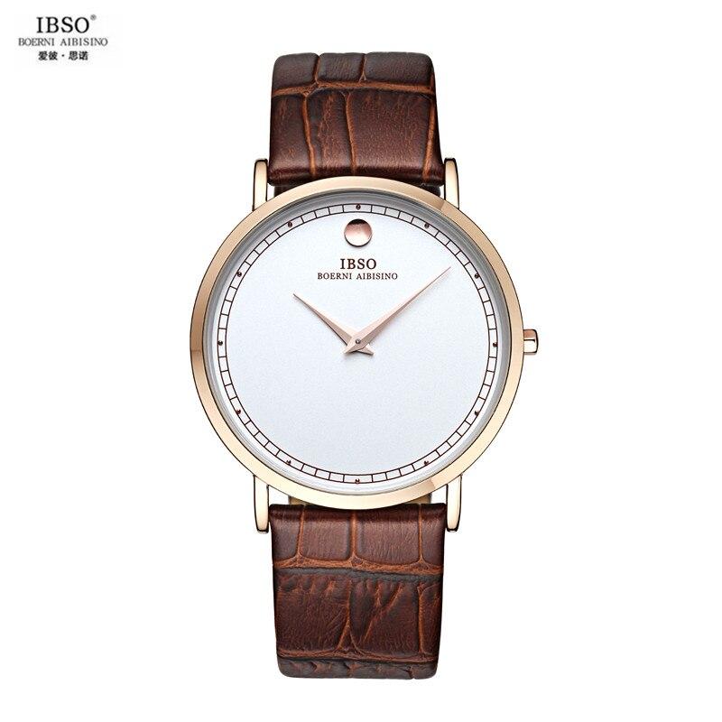 bc5245f1eef ღ ღIBSO À Prova D  Água Relógio Grande Mostrador do Relógio de ...