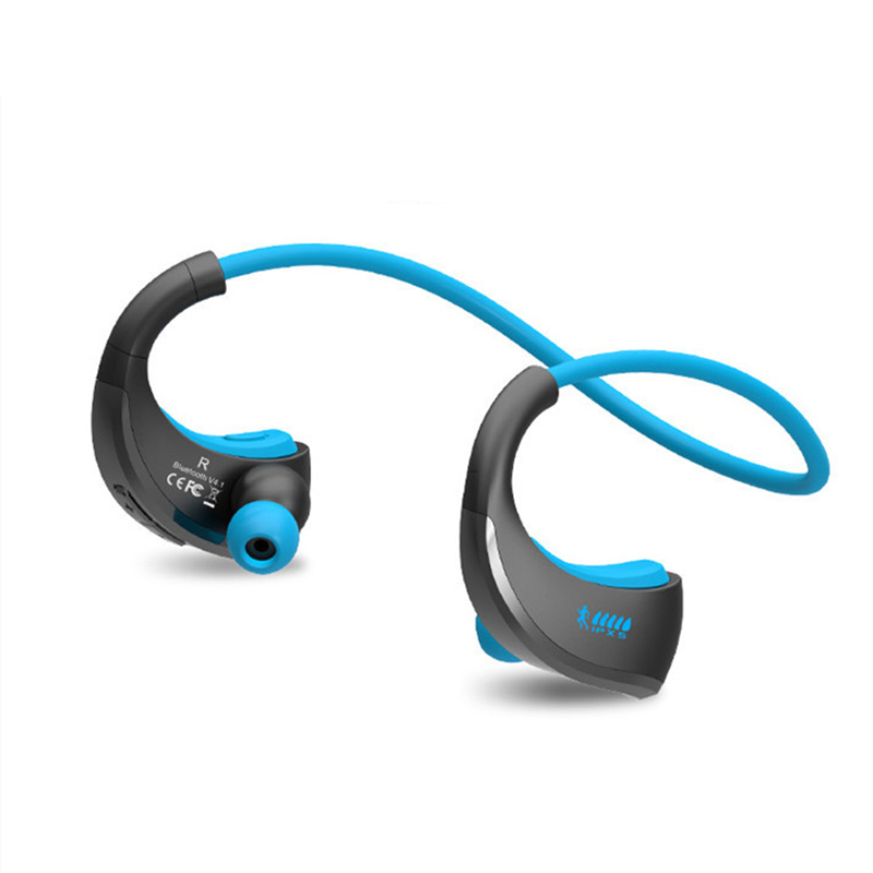 IPX5 Waterproof Bluetooth Earphone Bluetooth 4.1 Wireless Running Headphone Sport Headset Earhooks For iPhone Xiaomi Armor new bluetooth wireless headset stereo waterproof headphone earphone sport universal handfree for iphone for samsung