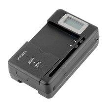 Новинка, мобильное Универсальное зарядное устройство, ЖК-экран индикатора для сотовых телефонов, usb-порт, горячая Распродажа