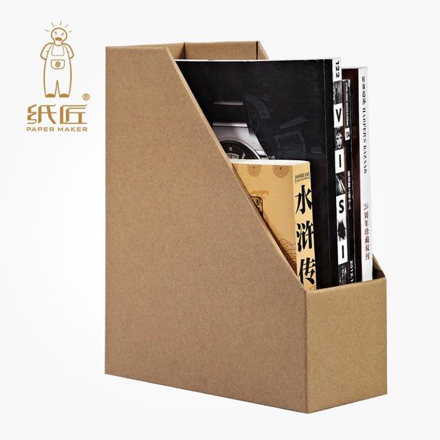 3d Puzzle Model Paper Craft Kids Diy Cardboard File Rack Jigsaw