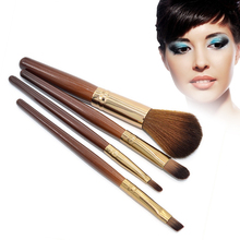 4Pcs Makeup Brushes Set Powder Cosmetic Tools Foundation Brush Facial Care Beauty Travel Essentials Kit Pinceau Fiber Collection