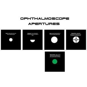 Image 4 - Wiederaufladbare Fiber Optic Otoskop direkt ophthalmoskop otoscopio & oftalmoscopio hohe grade Medizinische Diagnose Set Ohr Pflege