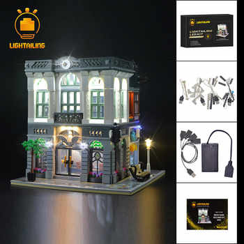 LIGHTAILING Led Light Up Kit For Creator  Brick Bank Light Set Compatible With 10251 - DISCOUNT ITEM  40% OFF All Category