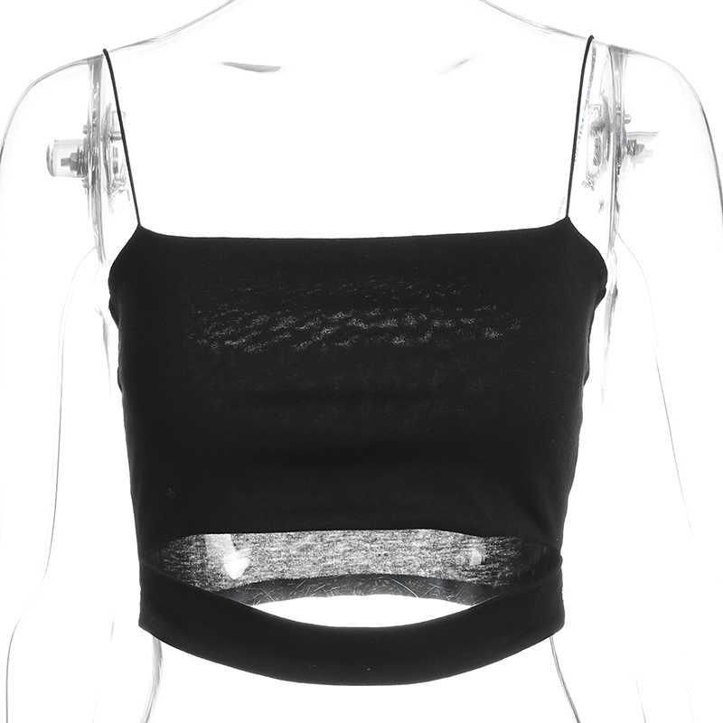 ملابس داخلية نسائية مثيرة بدون أكمام قصيرة باللون الأسود ماركة سويتاون لعام 2018 ، ملابس قصيرة بدون أكمام سادة على الموضة في الصين