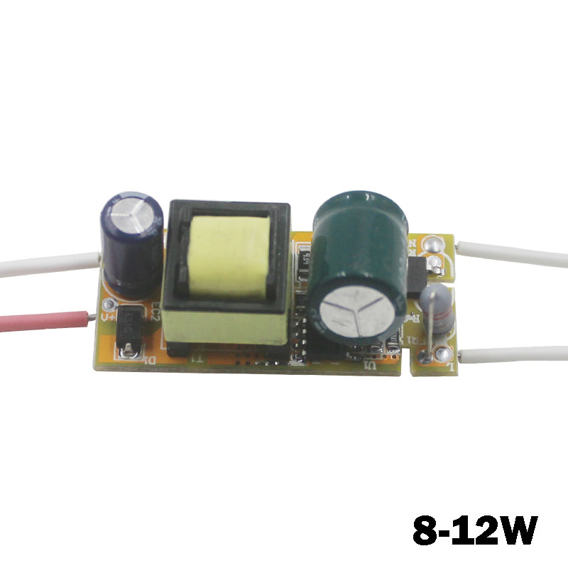 8-12 W Strømforsyning LED Driver Transformer Adapter Input AC90-265V Output DC24-42V Konstant strøm 240-300mA til DIY LED lampe
