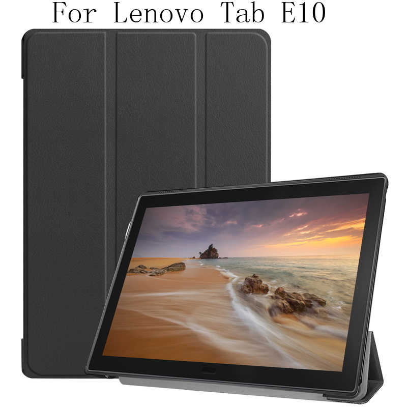 "Business Case voor Lenovo Tab E10 TB-X104 10.1 ""Tablet Stand Cover Protector Shell LenovoX104 TabE10 Behuizing Bescherming Fundas"