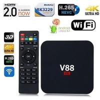 V88 Android 6 0 TV Set Top Box RK3229 RAM 1GB 8GB EMMC H 265 Quad