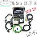 Новейшее программное обеспечение 2020,06 Xe ntry + DTS Monaco + Vediamo + DAS + EPC + HHT с ноутбуком Panasonic CF19 идеально подходит для MB Star C4C5