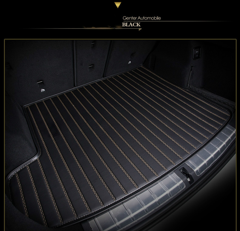 Custom special car trunk mats for Mazda 2/3/5/6 CX-5 CX-7 CX-9 CX-4 ATENZA MX-5 waterproof durable cargo rugs carpets