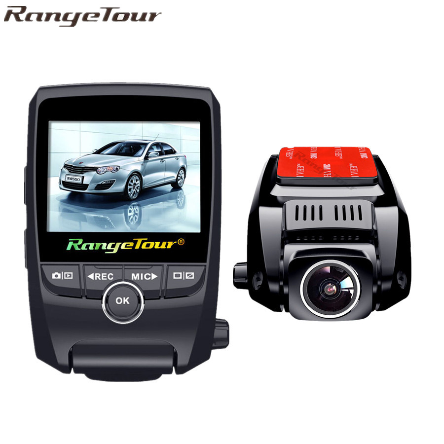 Range Tour Car DVR Front And Back Camera FHD 1080P+HD 720P Dash Cam Night Vision Car Camera Built in GPS Tracker Black Box bigbigroad for nissan qashqai car wifi dvr driving video recorder novatek 96655 car black box g sensor dash cam night vision