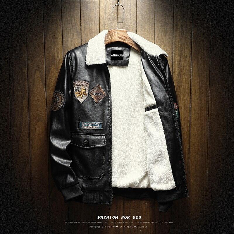 Moto Cuero Harley Retro Para Chaqueta Estilo De PqYHx