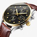 GUANQIN Роскошные брендовые классические мужские автоматические светящиеся часы  мужские Модные Повседневные водонепроницаемые механически...