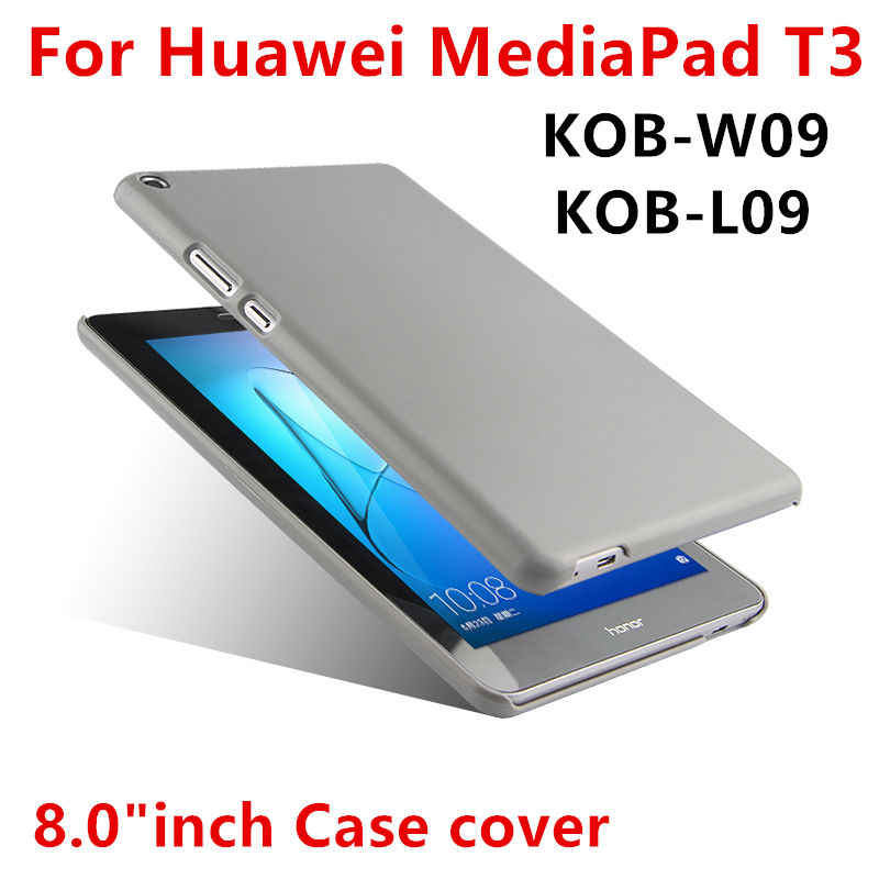 "Case For Huawei Mediapad T3 8.0 Protective Shell T3 8 Cover For Honor Play Tablet 2 kob-w09 KOB-L09 8"" Protector Cover Back case"