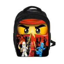 5bbf45d63d 2018 Lego sacs à dos cadeaux pour garçons filles enfants dessin animé film Lego  Ninjago modèle cartable avec étui Pencile Mochil.