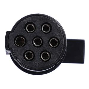 Image 5 - Semi Trailer Parts  24V Plastic Plug and Socket for Truck 7 Way Trailer Connectors