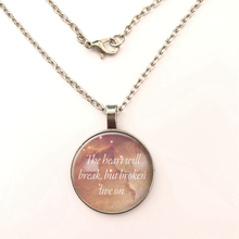 YSDLJG Inspirational Quote Necklace Motivational Words Jewelry Love Pendant For Women Gifts