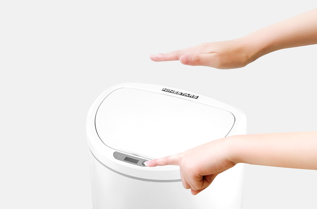 Image 5 - Xiaomi Mijia NINESTARS Intelligent Sensor Trash Can 10L Capacity on key Control Adjustable Sensing Distance Home Trash Bin-in Smart Remote Control from Consumer Electronics